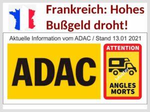 Vorsicht, Frankreich-Freunde: Ein happiges Bußgeld droht ab sofort für Fahrzeuge größer 3,5 to! (Montage: tom/dkf)