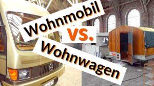Ein Evergreen am Lagerfeuer: Was ist besser? Das Reisen im Wohnwagen oder im Reisemobil? (Foto/Montage: tom/dkf)