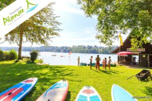Aktivurlaub, Erholung pur und eine Weltstadt mit Herz vor der Tür. Die Campinganlage Pilsensee bietet all das an. (Foto: Dominik Haf)