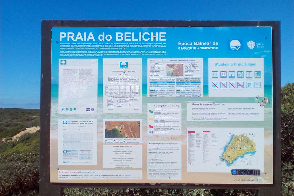 Die Verbote nehmen auch in Portugal zu. Hier eine Hinweistafel in der Region um Sagres. (tom/dkf)