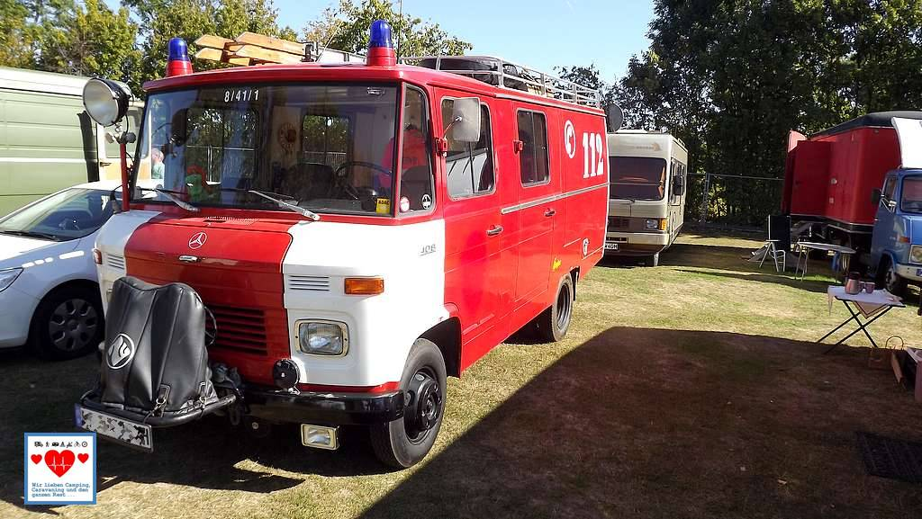Ein Klassiker: Der 408 in der Feuerwehr-Ausführung. (Foto: tom/dkf)