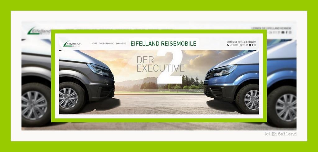 Frischer Wind und Qualität: Die Marke Eiffelland bietet Business-Mobile auf VW Crafter-Basis (screenshot: Eiffelland)