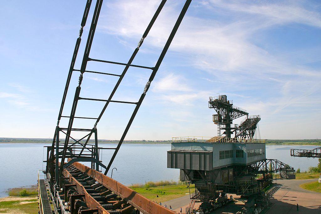 Starke location direkt am Gremminer See. Ferropolis - Stadt aus Eisen. (Foto: Ferropolis)