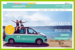 Camper mieten leicht gemacht. Die Roadsurfer GmbH hat 2.500 Fahrzeuge im Bestand. (Foto: roadsurfer)