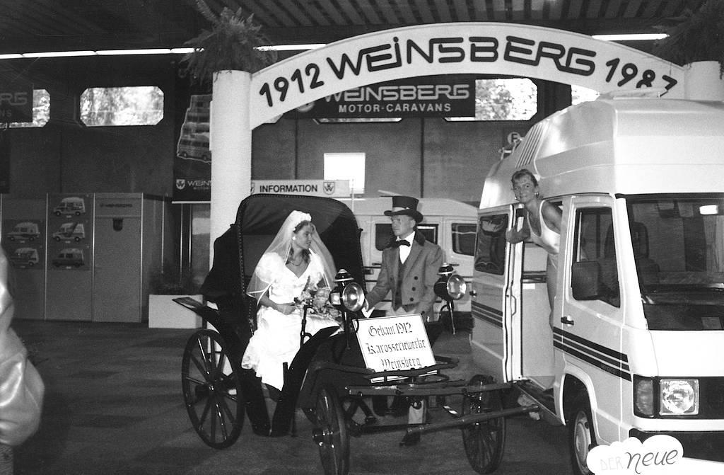 1987: Weinsberg feiert 75-Jahre-Jubiläum. (Foto: Maria Dhonau)