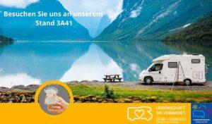 Die Firma silvertex aqua GmbH stellt seine Produkte auf dem diesjährigen Caravan Salon in Halle 3 Stand A 41 aus. (Foto: silvertex)