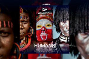 """""""Humans"""" zeigt eine Multimedia-Show auf Europas größter 360-Grad-Leinwand. (Foto: Visiodrom)"""