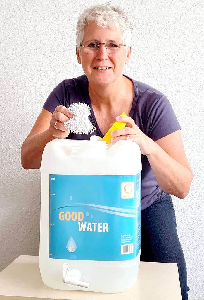 Silvertex tritt an, um das Wasser in Campingfahrzeugen hygienisch und frisch zu halten. Birgit Dürsch ist Geschäftsführerin des Unternehmens aus Berlin-Hoppegarten. (Foto: silvertex)