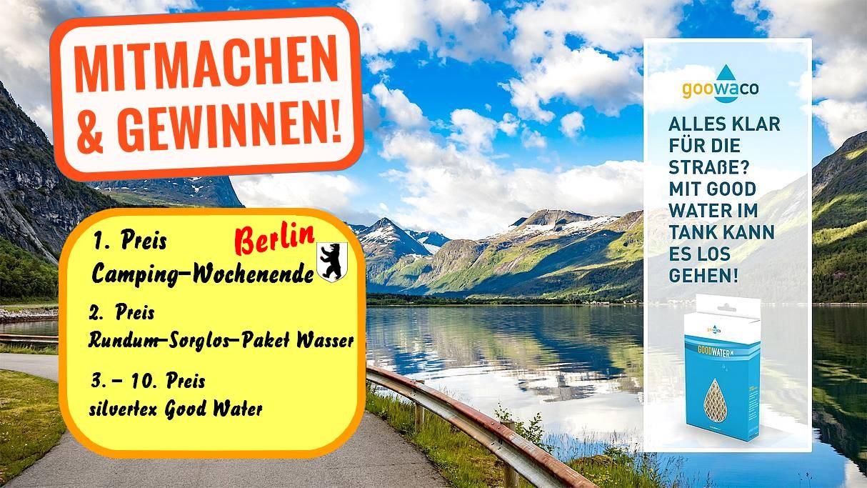 Gewinnen Sie ein Camping-Wochenende in Berlin und weitere tolle Preise mit Goowaco und silvertex post thumbnail image