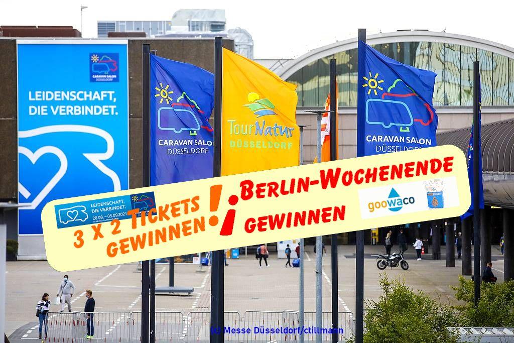 Tickets gewinnen mit We love C! (Foto: Messe Düsseldorf/ctillmann; Montage: tom/dkf))