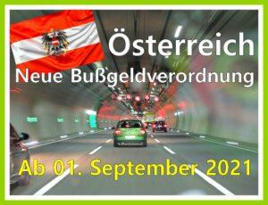 Ab 01. September 2021: Neuer Bußgeldkatalog in Österreich. (Foto: Thomas Wolter/pixabay.com)