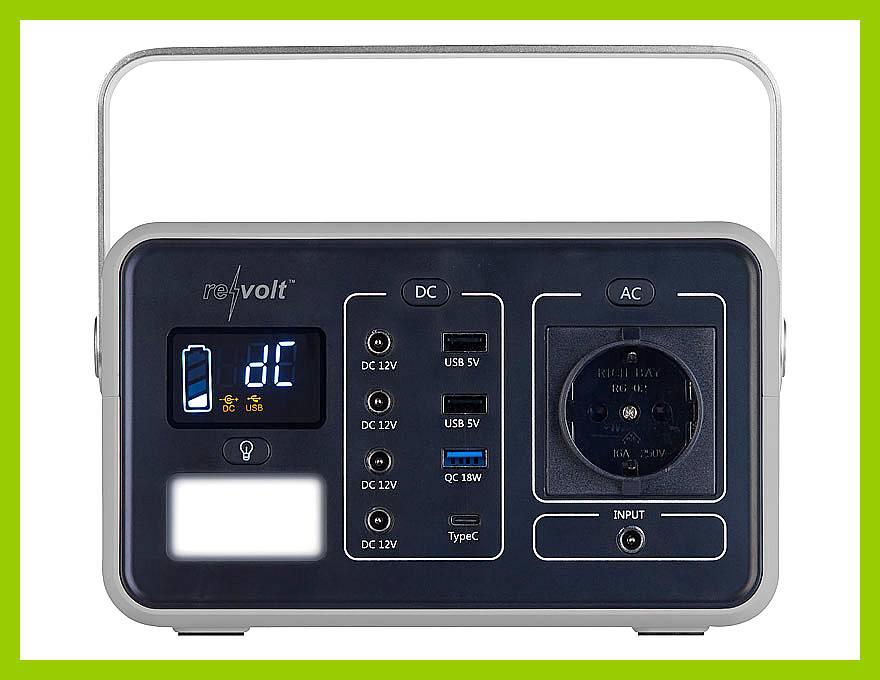 230 V, 12 V, USB: Egal! Die Powerbank hat sie alle! (Foto: Pearl)