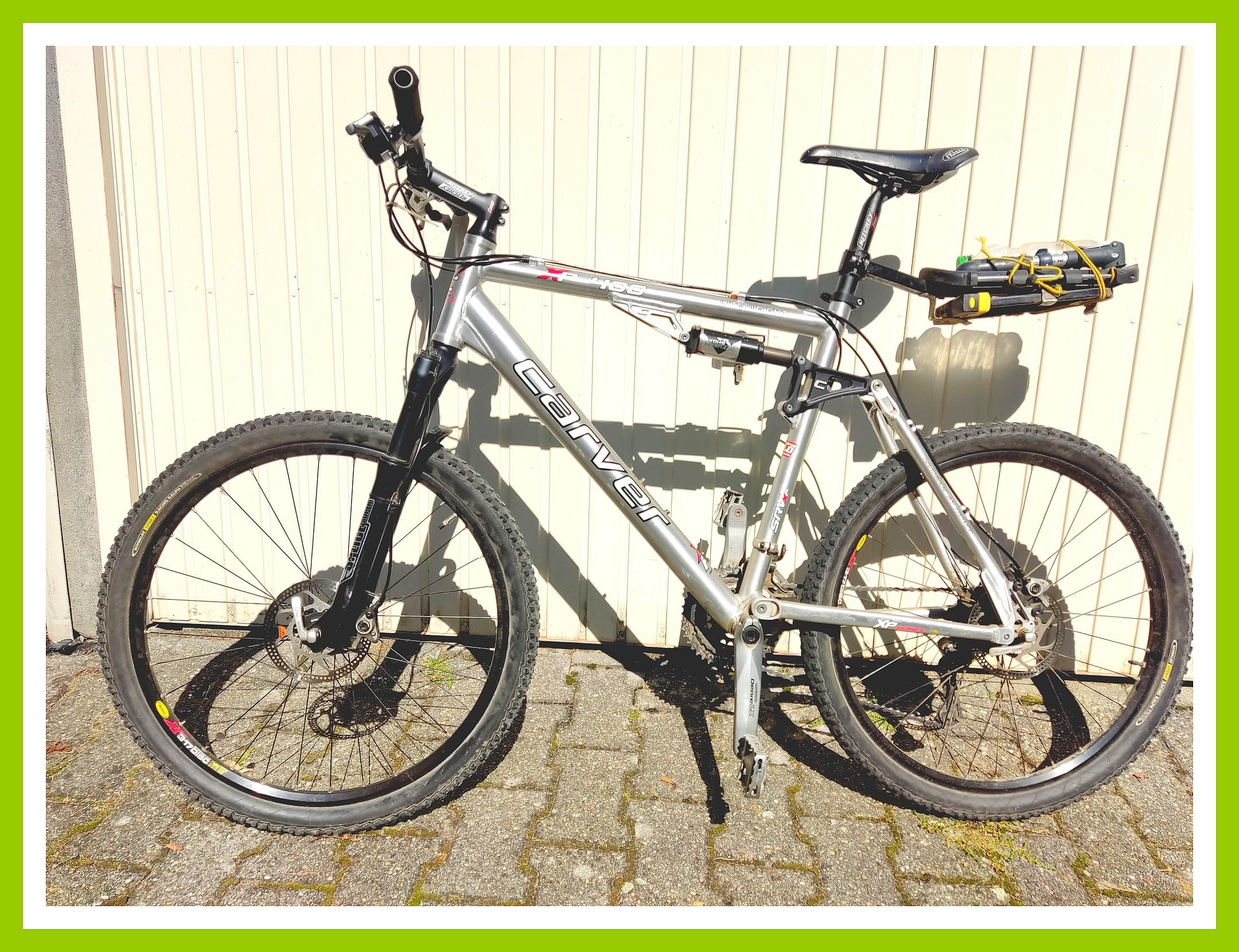 Mountainbike zu verkaufen – Carver XP 400 – Fully – Shimano – Scheibenbremsen post thumbnail image