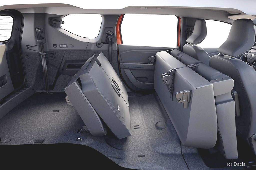 "Dacia Jogger: Wahnsinnig viel Platz! Übt man bereits für einen Van ""Sandman""? (Foto: Dacia)"