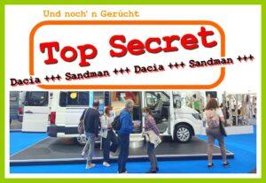 Ein Van für 18.000 Euro? Der Dacia Sandman tanzt in der Gerüchteküche. (Montage: tom/dkf)