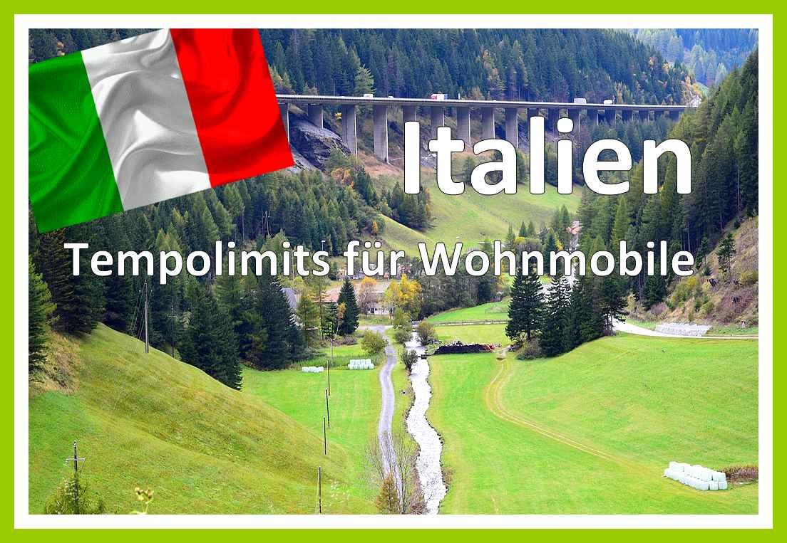 Italien: Tempolimits unterscheiden sich von denen in Deutschland! (Foto: tibi54; Pixabay.com)
