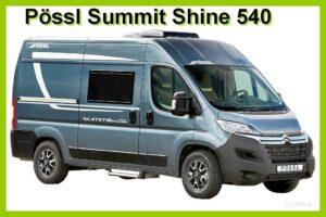 Pössl bringt den Summit Shine 540 in der Saison 2022. (Foto: Pössl)