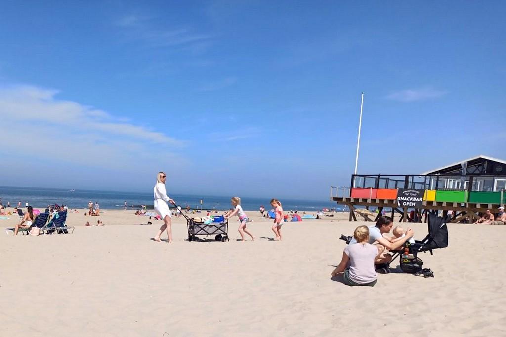 Urlaub am Meer: Toll für Familien. Und am Strand gibt es immer was zu gucken. (Foto: tom/dkf)