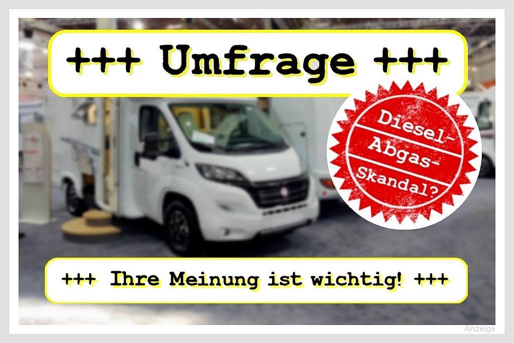 Umfrage Abgasskandal: Deine Meinung zählt! (Foto + Montage: tom/dkf)