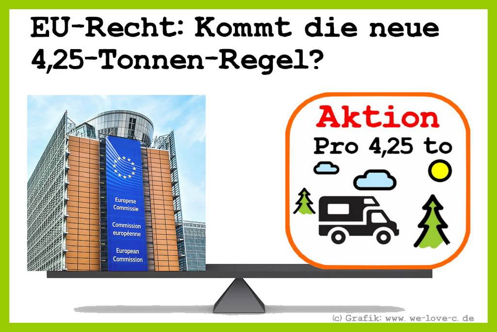 Wohnmobil mit 4,25 Tonnen fahren – Aktion Pro 4,25 to – We love C ❤️ ist für die Einführung der neuen Regel post thumbnail image